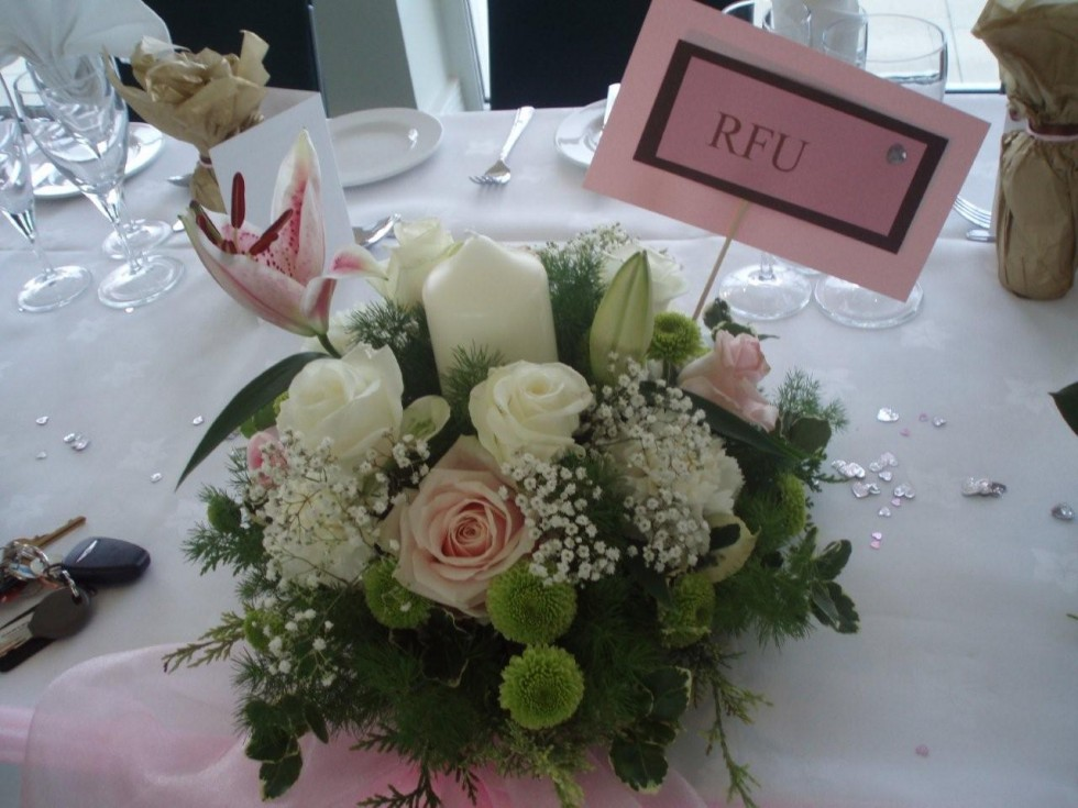 Table Centerpieces Photogalleries Rainbow Weddings