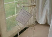 Vintage Bird Cage Postbox - Hired Item