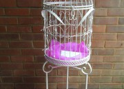 Vintage birdcage post box 001