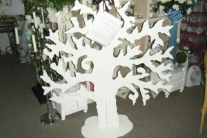 Wooden Wedding Tree